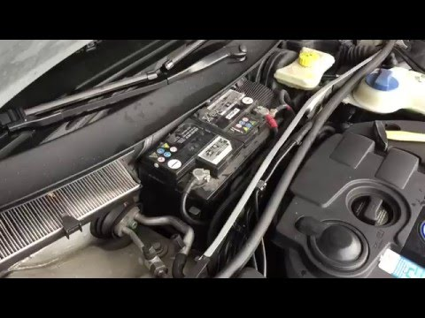 SOLVED: VW Passat Water In Footwells