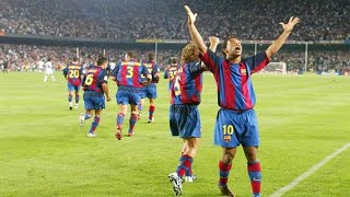 When Ronaldinho Made History in his Debut for Barcelona