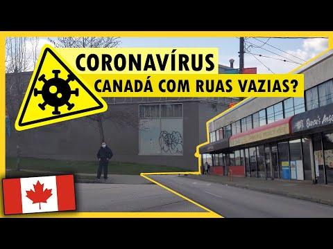 RUAS DO CANADÁ DURANTE O CORONAVÍRUS COVID-19 - Vlog Ep.129