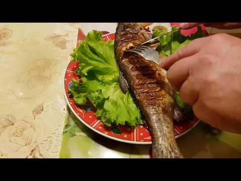 OptiGrill+XL TEFAL.Умный гриль. Рыба на гриле