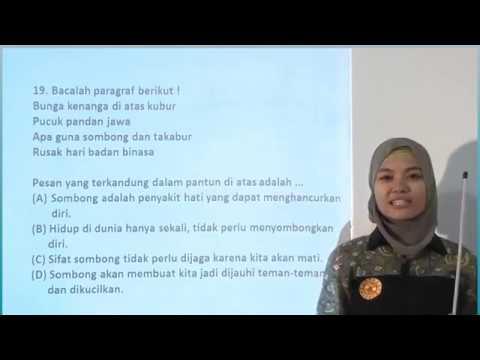SD - Pembahasan Soal UN SD - Bahasa Indonesia