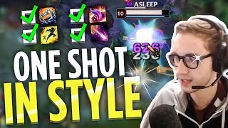HOW TO ONE SHOT IN STYLE - Bjergsen
