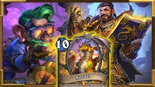 Hearthstone: 4 Mana 11/11 | My New 80% Winrate Dragon Paladin Part 2 | Rise Of Shadows