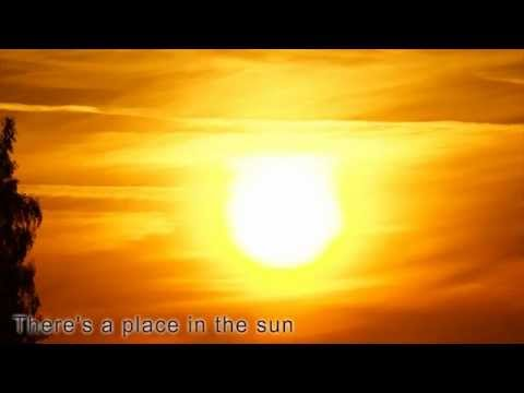 A Place In the Sun  Stevie Wonder with lyrics