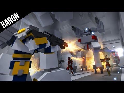 Minimum Gameplay Part 1 - First Impressions:  Minecraft MOBA Team Shooter?