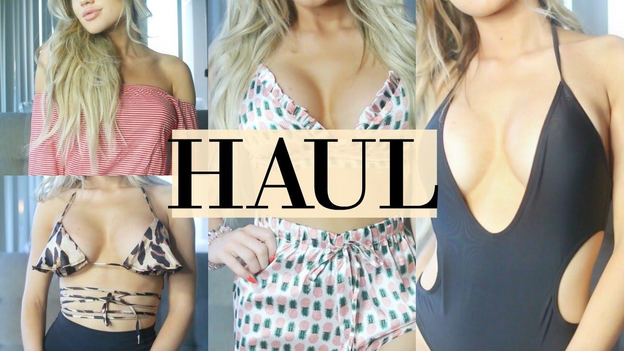 41db1841b1 HUGE Summer Boohoo TRY ON Haul 2017 - YouTube