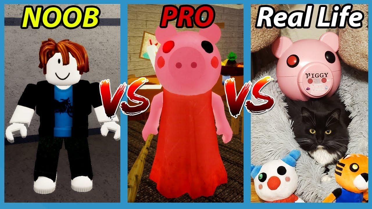ROBLOX PIGGY VS REAL LIFE