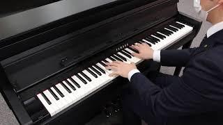 ヤマハのクラビノーバで「フォルテピアノ」音色を演奏