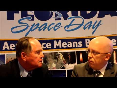 Bob Crippen Interview Shot During Florida Space Day