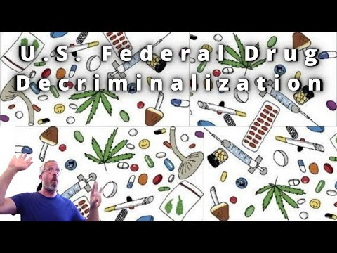 U.S. Federal Drug Decriminalization Efforts
