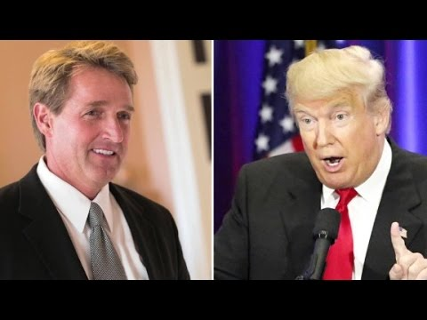 Donald Trump clashes with Sen. Flake