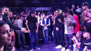 Les Twins Vienna club Schwartzenberg april 2019 In the middle of the crowd 1