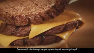 BURGER KING - TRIPLE CHEESE (court)...