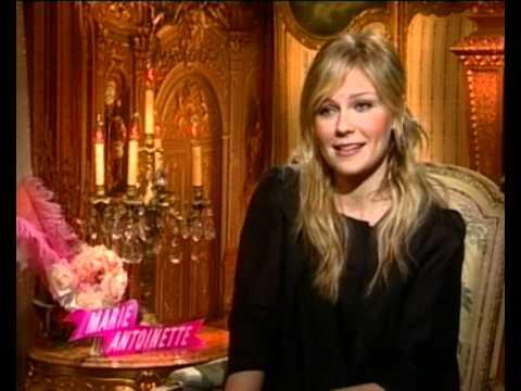 Kirsten Dunst on filming Marie Antoinette