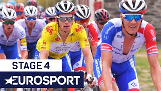 Tour de Wallonie - Stage 4 Highlights | Cycling | Eurosport