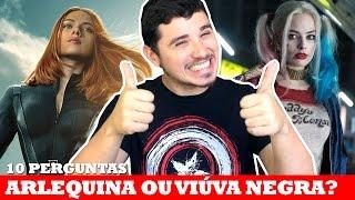 ARLEQUINA VS VIÚVA NEGRA NO APP COMICS AMINO! | 10 Perguntas #8