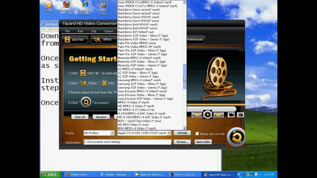 tipard ts converter full download