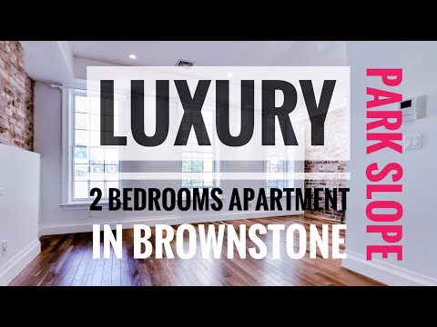 Luxury 2 Bedrooms Apartment in Remodeled Brownstone in Central Park Slope, Brooklyn NY Video Tour