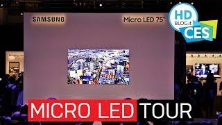 Samsung The Wall: il TV modulare MicroLED da 219