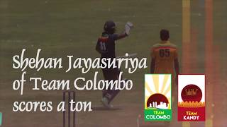 Shehan Jayasuriya 115 for Colombo against Kandy