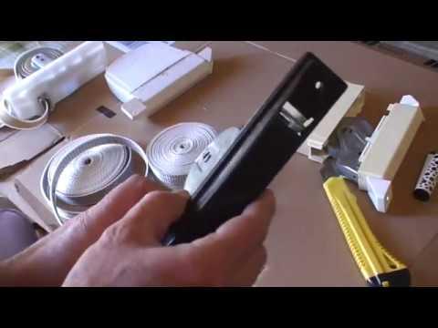 Poner cinta en el recoge cintas de una persiana modelos - Colocar cinta persiana ...