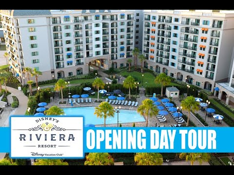 Disney's Riviera Resort Opening Day Full Tour With Narration