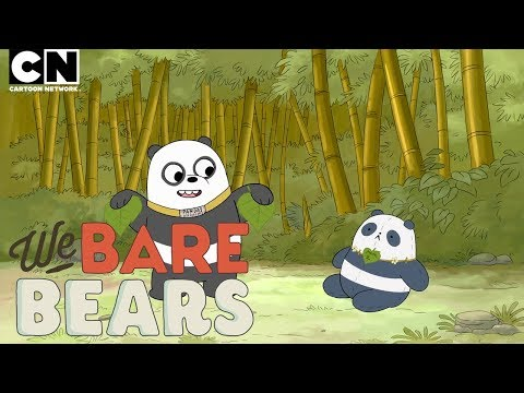 Panda Watches TV for the First Time! | We Bare Bears | Cartoon Network