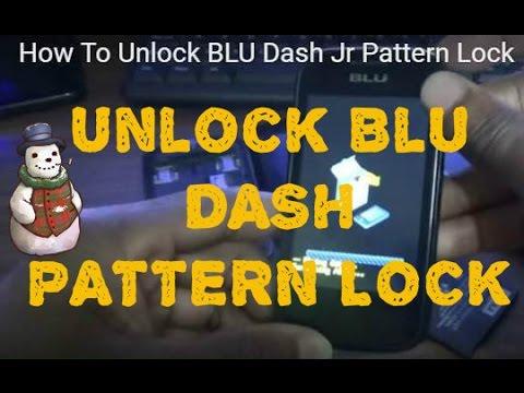 How To Unlock BLU Dash Jr Pattern Lock