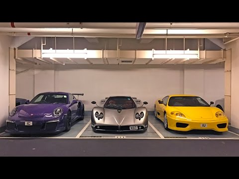 Taking A Gumpert Apollo to Hong Kong's Most Expensive Car Park!
