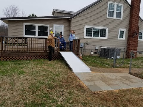 Installing a Handicap Ramp For a Brother in Need