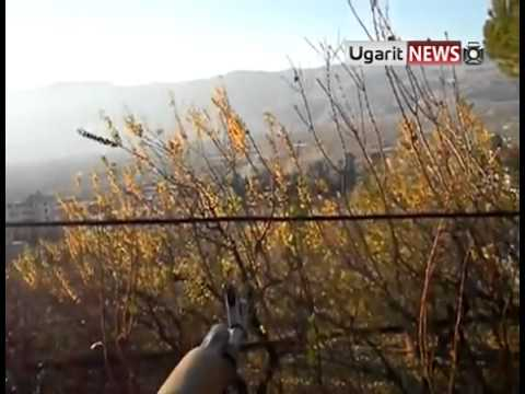 11 12 AL Zabadani, Damascus أوغاريت الزبداني ريف دمشق ،بيان كتيبة ابي عبيدة من ارض المعركة