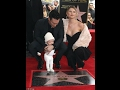 Adam Levine  takes her baby honored with star on Hollywood Walk of Fame