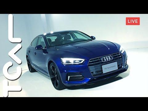 [直播] 全新世代 Audi A5 Sportback 正式抵台 - TCAR