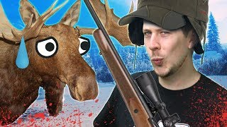 Hunting Down Mikey The Moose