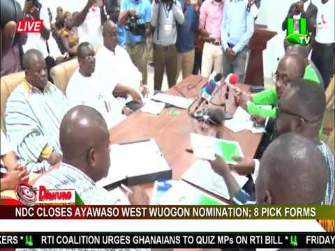 NDC Closes Ayawaso West Wuogon Nomination: 8 Pick Forms