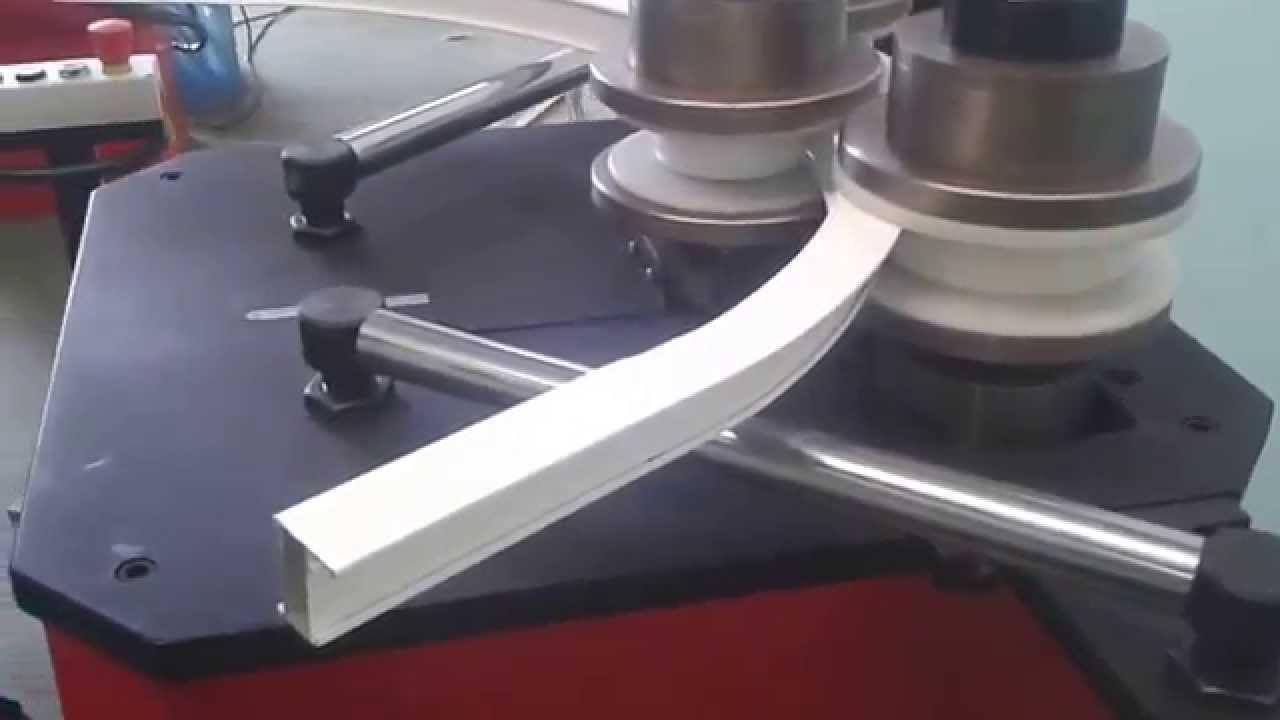 Hvm50 curvadora de perfiles dobladora de tubos - Tubo de aluminio ...