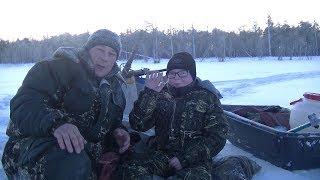 Зимняя Рыбалка 2020-Поход с Ночёвкой в Палатке.