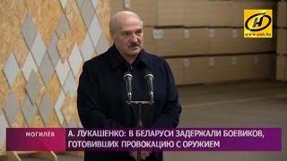 Александр Лукашенко  В Беларуси всегда готовы пресекать любую противоправную деятельность