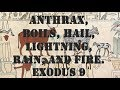 Anthrax, Boils, Hail, Lightning, Rain, and Fire  Exodus 9