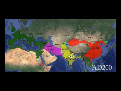 8,000 years of the worldAsia Europe North Africa )The 4 minute Version