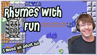 Rhymes with FUN, but at what cost!? || Super Mario Maker 2