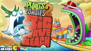 Plants Vs Zombies 2: Big Wave Beach Day 4 Ghost Pepper Is On Fire