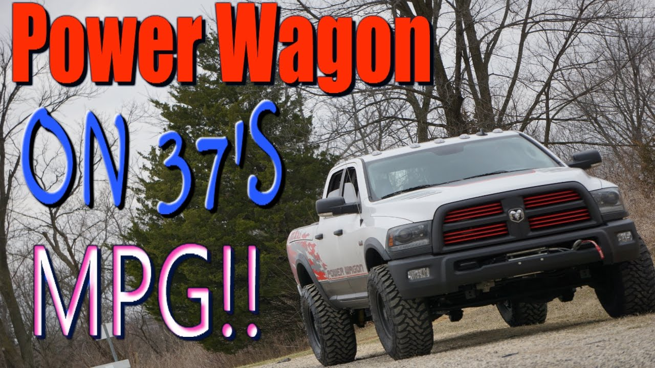 Ram Wagon On 37s Mpg Test