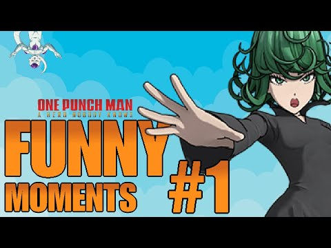 ONE PUNCH MAN: A Hero Nobody Knows FUNNY MOMENTS #1