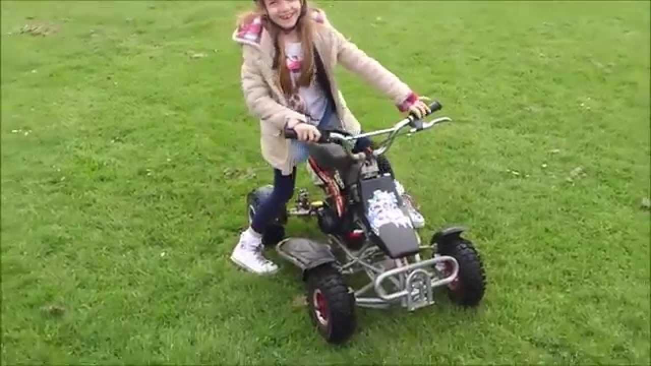 50cc mini quad bike youtube. Black Bedroom Furniture Sets. Home Design Ideas