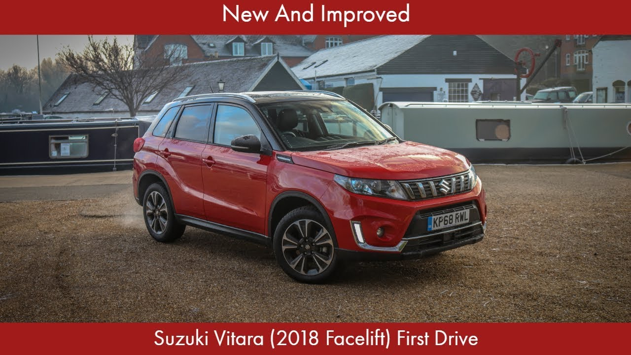 new and improved suzuki vitara 2018 facelift first drive youtube. Black Bedroom Furniture Sets. Home Design Ideas
