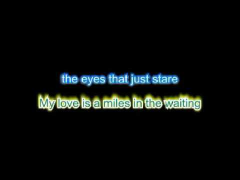 Robert Plant - Big Log (Karaoke 2017)