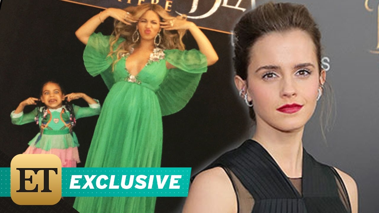 EXCLUSIVE Emma Watson And Beauty The Beast Cast React To Beyonce Attending LA Premiere
