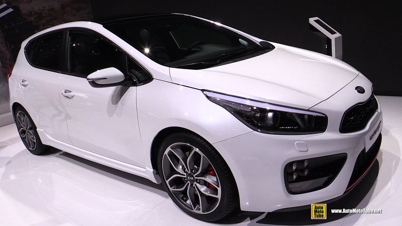 2017 kia ceed gt exterior and interior walkaround 2017. Black Bedroom Furniture Sets. Home Design Ideas