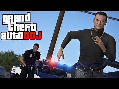 GTA 5 Roleplay - DOJ 30 - Watch Out Officer